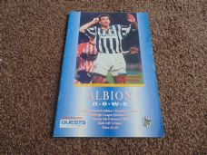 West Bromwich Albion v Charlton Athletic, 1994/95